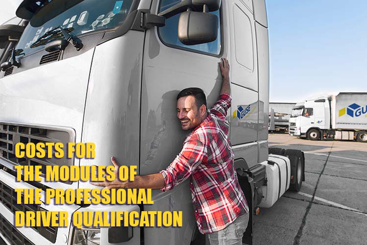 PAYMENT OF COSTS FOR  THE MODULES OF THE PROFESSIONAL DRIVER QUALIFICATION