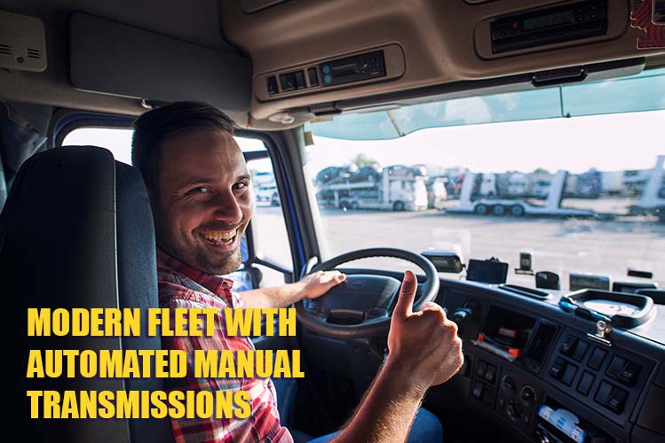 MODERN FLEET WITH AUTOMATED MANUAL TRANSMISSION
